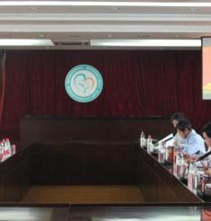 四川省卫生计生委罗良娟副主任一行来院进行省委十一届三次全会精神主题宣讲